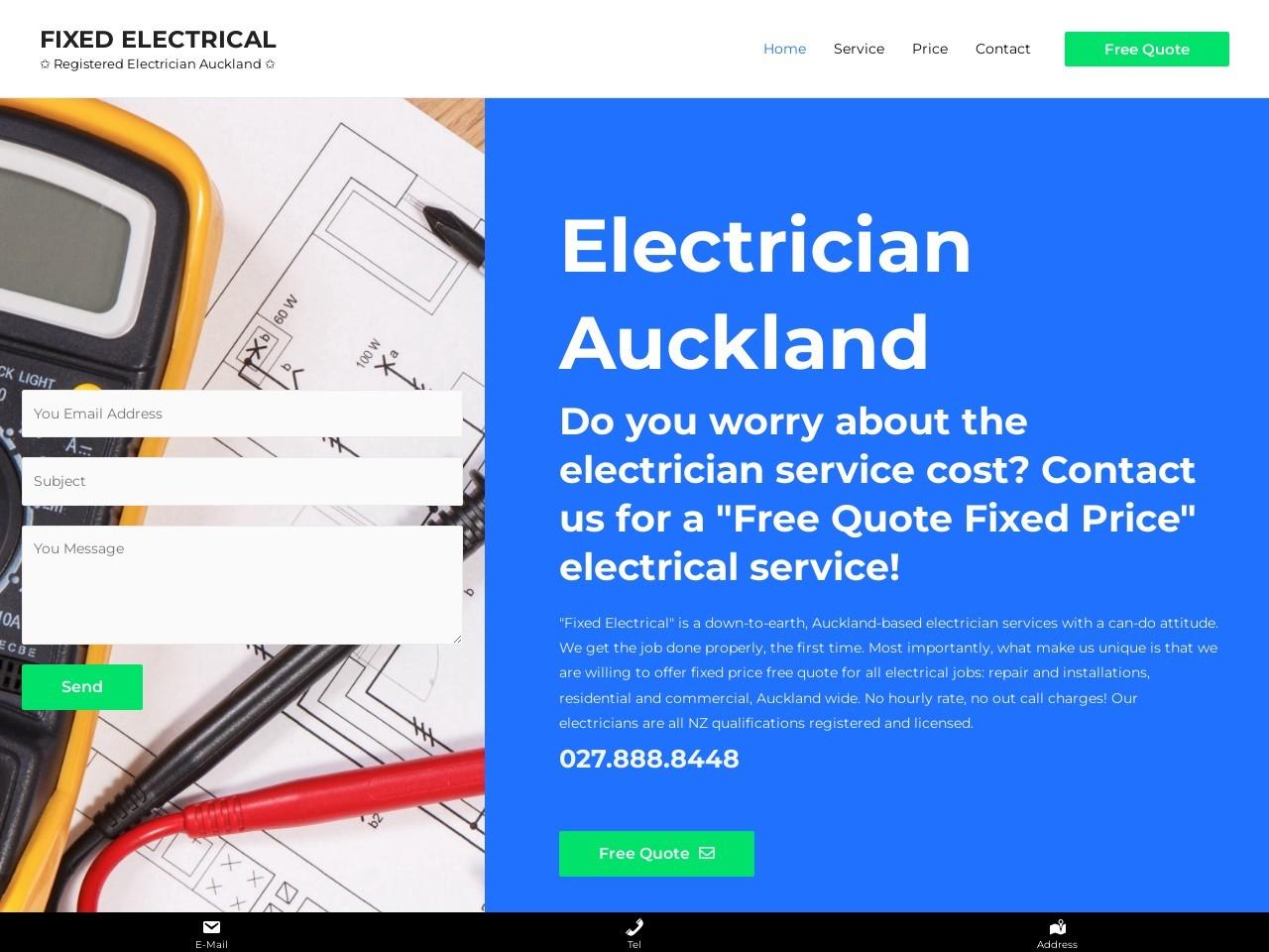 Electricians Auckland截图