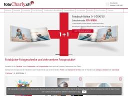 FotoCharly Homepage Screenshot