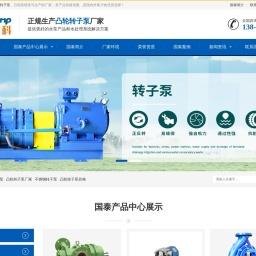 凸轮转子泵-凸轮泵-凸轮转子泵生产厂家-安徽国泰泵科厂家