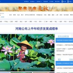 新华网河南频道_河南地区最权威的国家重点新闻网站