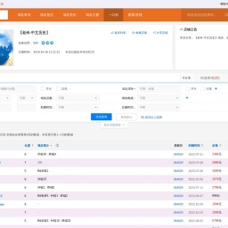 【老米-中文历史】:好域名抢注机