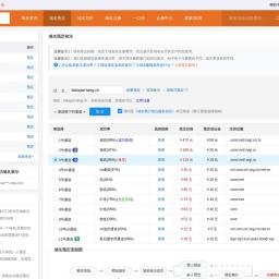 biaopai-tang.cn过期删除域名预定抢注:好域名抢注机