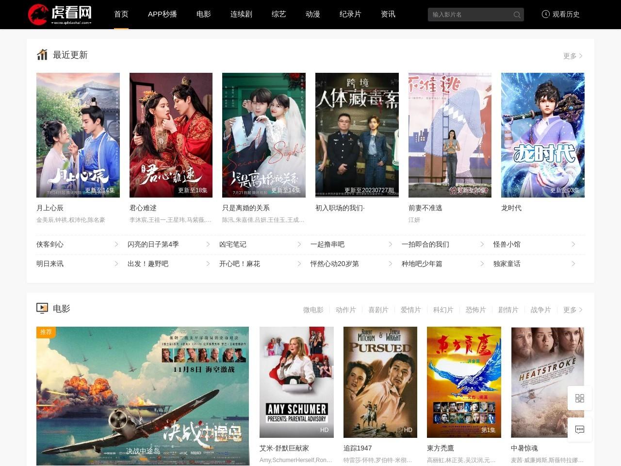 虎看网 - 好看的电视剧 - 电影大全排行榜 - 迅雷下载