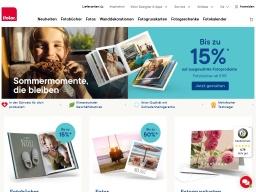 Ifolor Homepage Screenshot