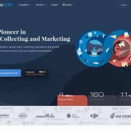 麦客CRM - 信息收集与市场营销领导品牌