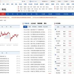 有色金属网_上海有色金属价格行情走势_我的有色网