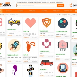 NameShow - Good domain name is a beautiful landscape!