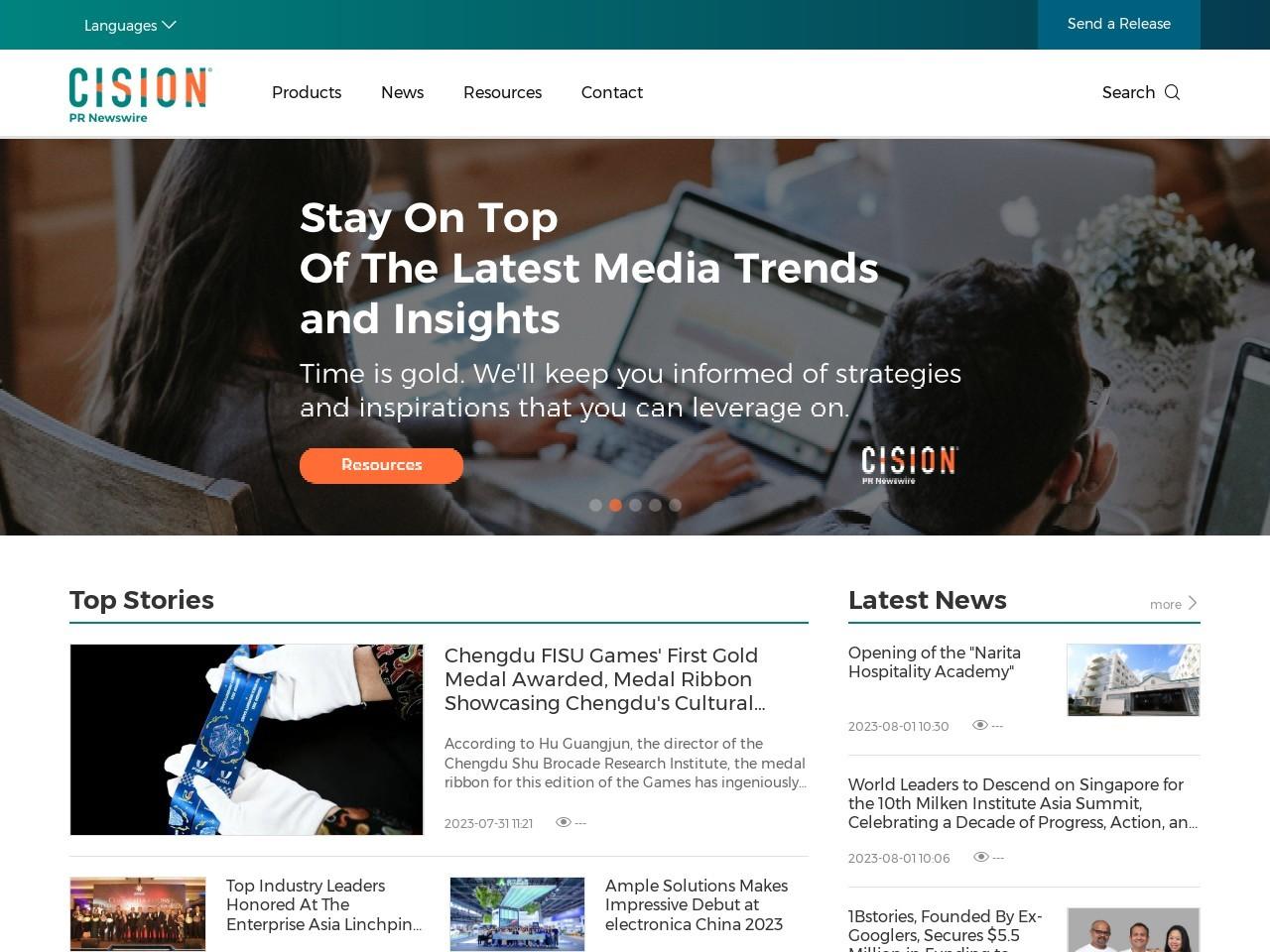 美通社官网-PR_Newswire-新闻稿发布-全球领先的企业新闻稿发布机构