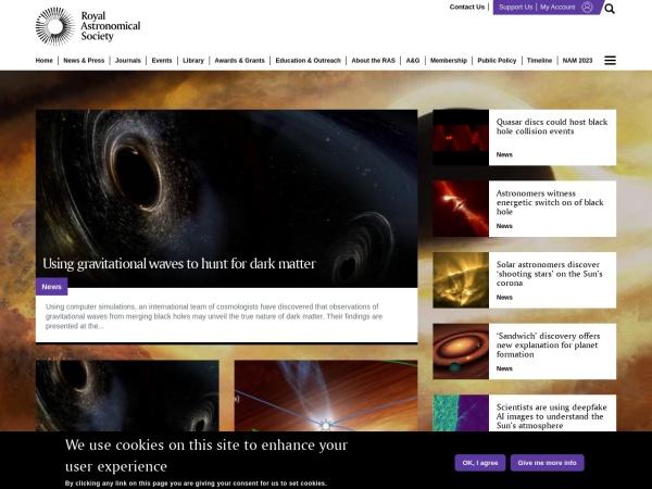 英国皇家天文学会官网