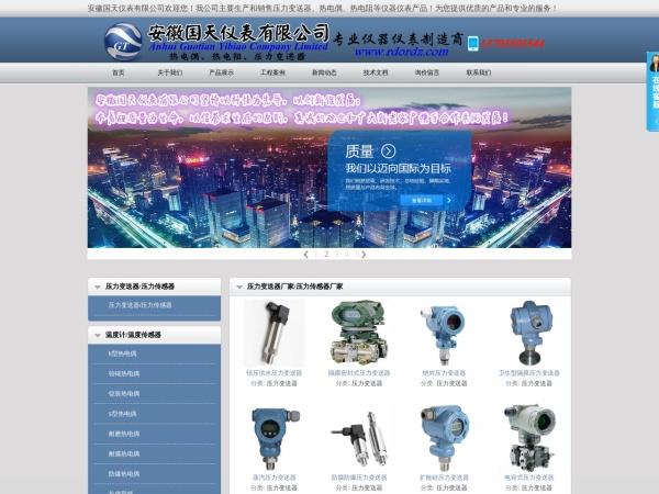 安徽国天仪表有限公司销售网