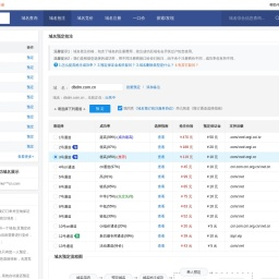 dbdm.com.cn过期删除域名预定抢注:搜米网