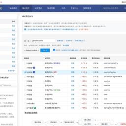 gzhdms.com过期删除域名预定抢注:搜米网