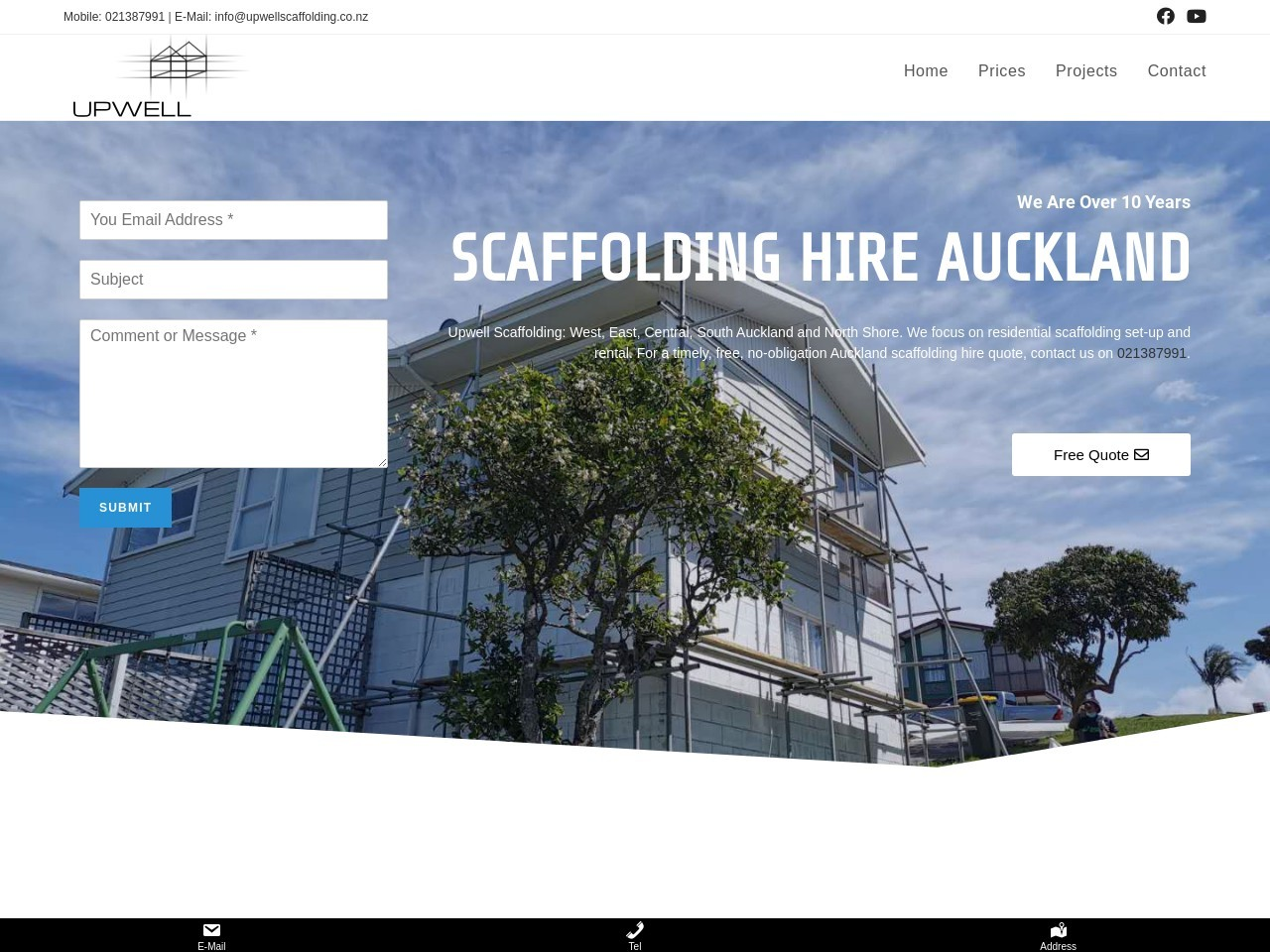 SCAFFOLDING HIRE AUCKLAND