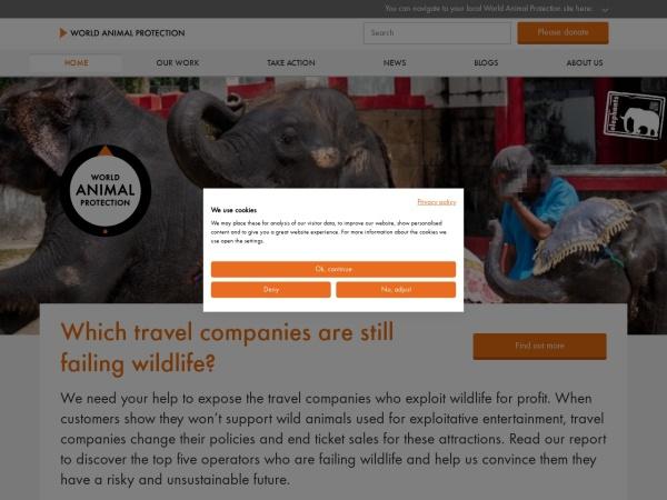 世界动物保护协会官网