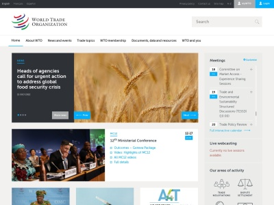 世界贸易组织官方网站