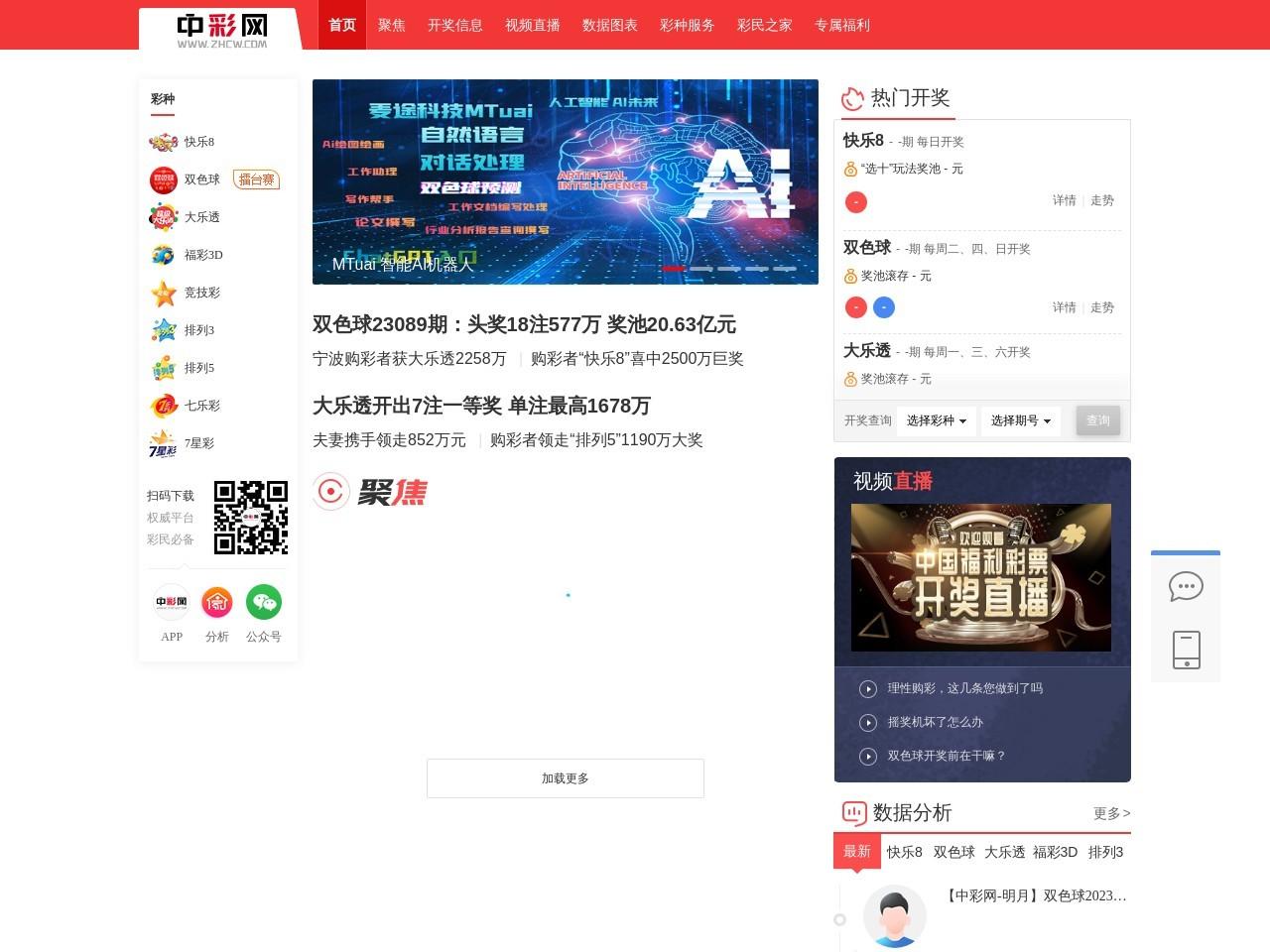 中彩网-中国彩票行业网络信息发布媒体