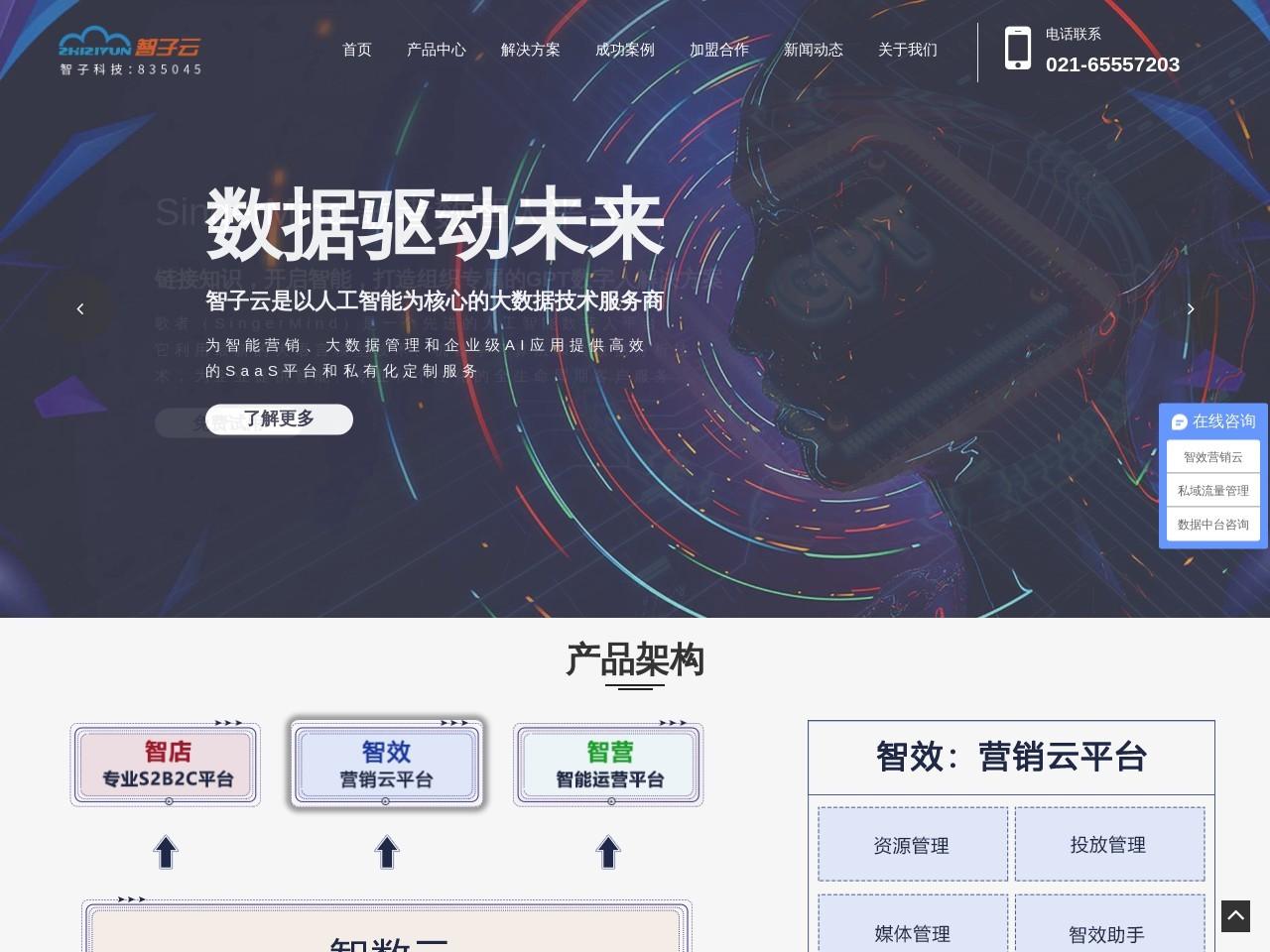 智子云广告平台