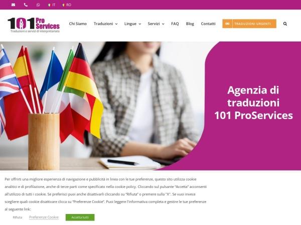 Screenshot of 101proservices.com