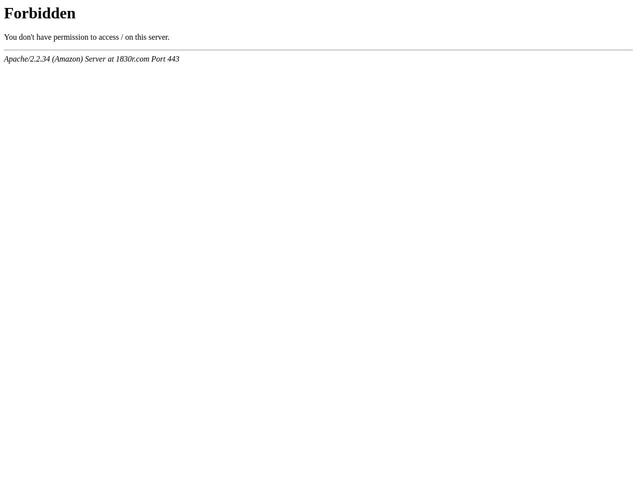 Screenshot of 1830r.com