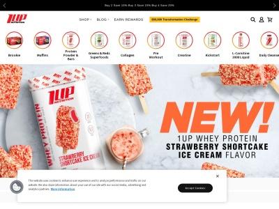 Screenshot of 1upnutrition.com