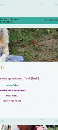 Screenshot von 4alle.wordpress.com