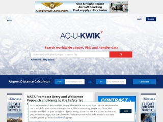 Screenshot of acukwik.com