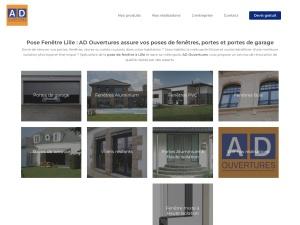Entreprise de fabrication et de pose de fenêtres, de portes et de velux sur Lille