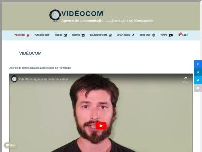 VidéoCom – Agence de Communication visuelle spécialisée dans la création de vidéos en Normandie.