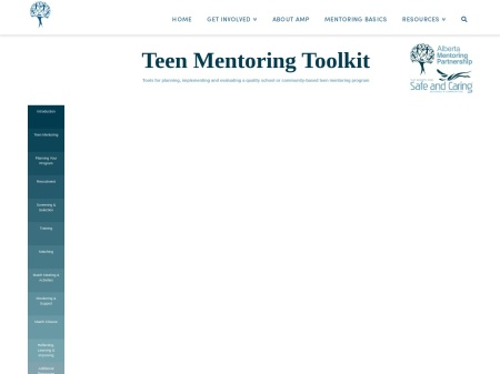 Teen Mentoring Toolkit