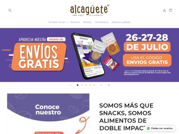 Captura de pantalla de alcaguete.com.co