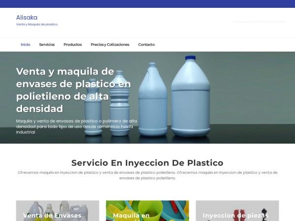 Captura de pantalla de alisaka.com.mx