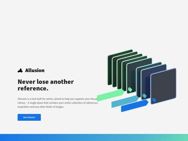 Screenshot of allusion-app.github.io