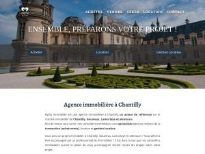 Alpha Immobilier, l'agence immobilière de Chantilly aux solutions sur mesure pour tous