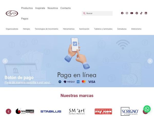 Captura de pantalla de alsada.com.co