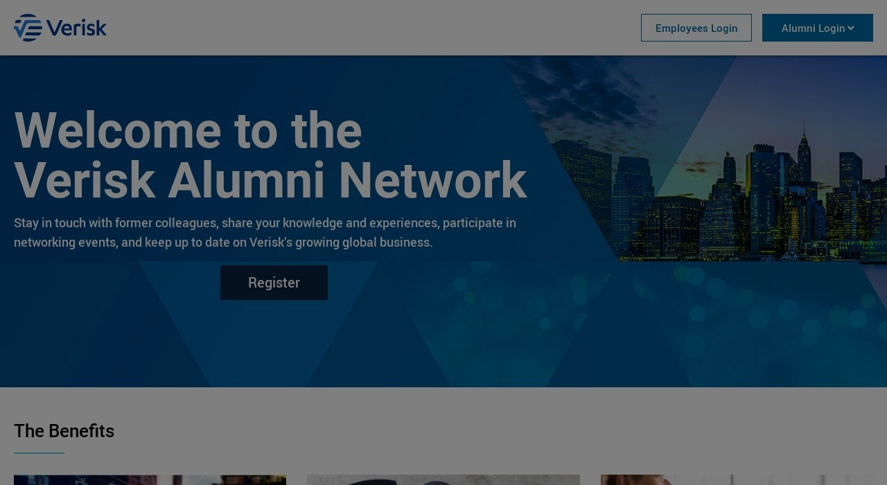 Screenshot of alumni.verisk.com
