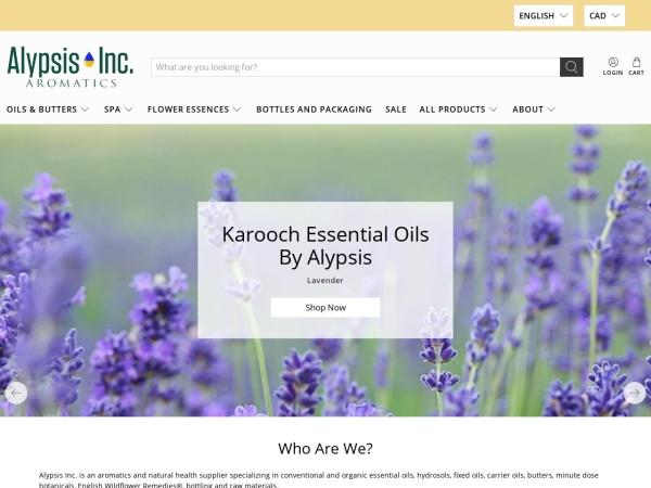 Screenshot of alypsis.ca
