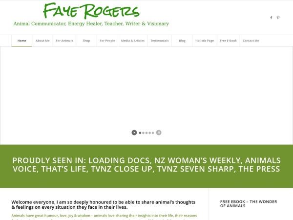 Screenshot of animalcommunication-newzealand.com