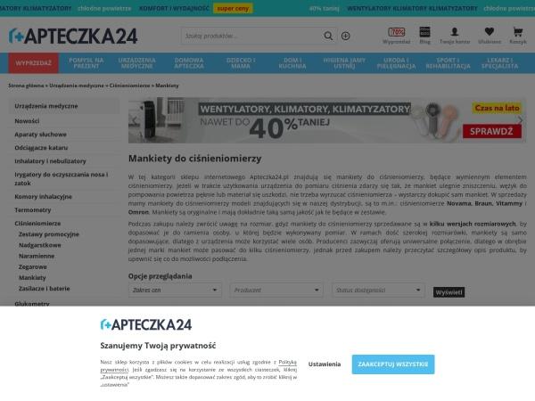 https://apteczka24.pl/mankiety-do-cisnieniomierzy,c499.html
