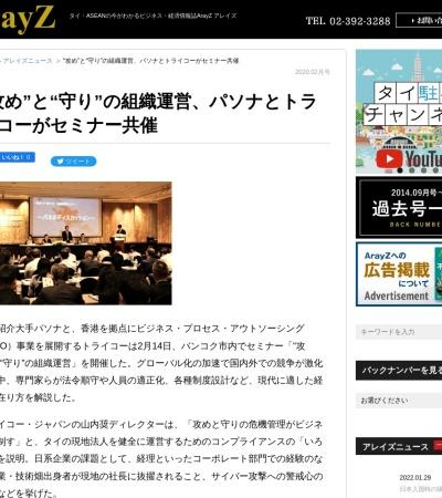 Screenshot of arayz.com