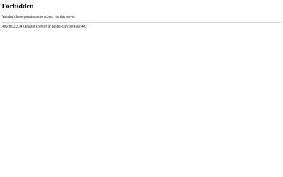 Screenshot of aroma-exe.com