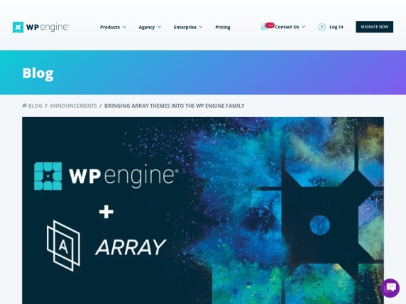 Array homepage