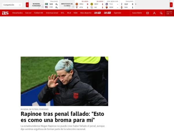 Captura de pantalla de as.com