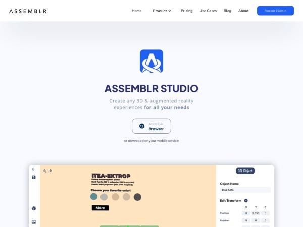 Screenshot of assemblrworld.com