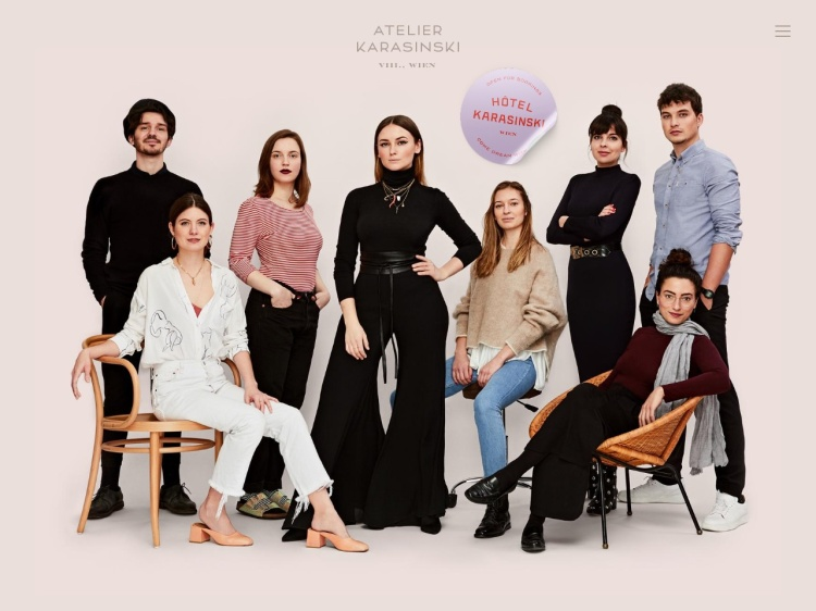 Atelier Karasinski – a Vienna based design agency<