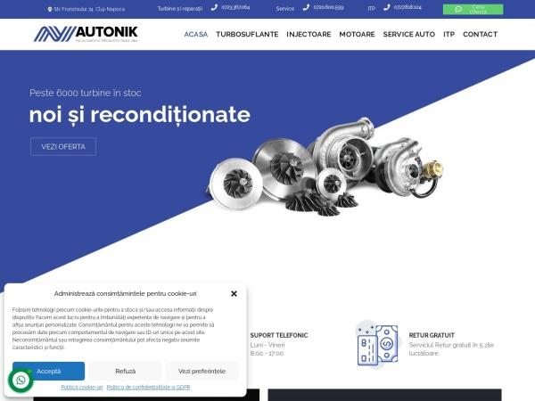 Screenshot of autonik.ro