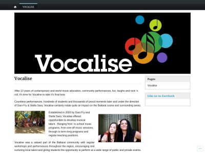 Vocalise Screenshot