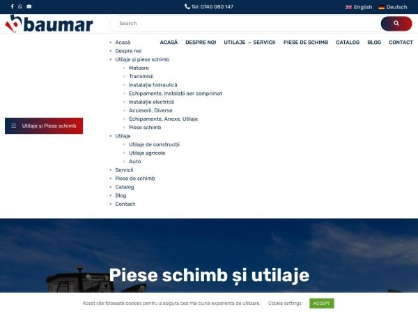Screenshot of baumar.ro
