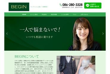 Screenshot of beginet.jp