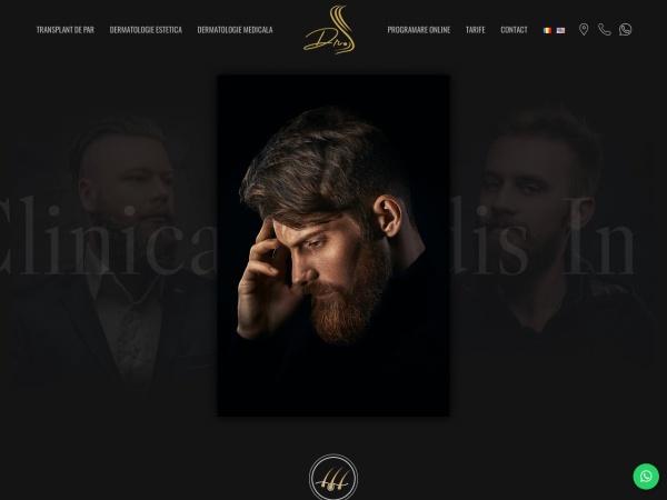 Screenshot of bendisclinic.ro