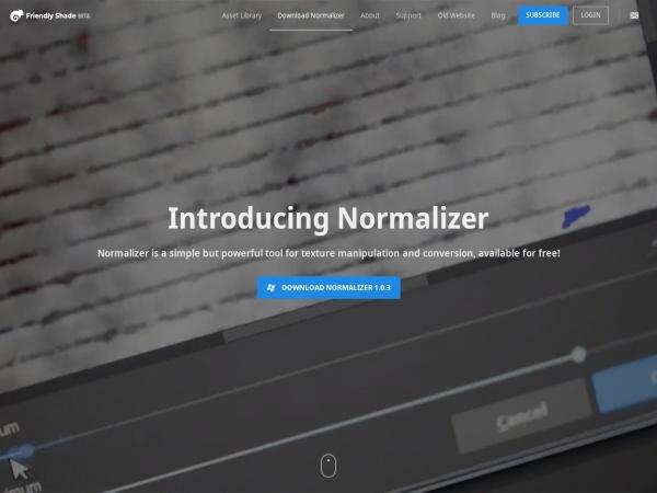 Screenshot of beta.friendlyshade.com